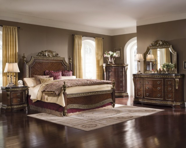 King Size Mirrored Bedroom Sets