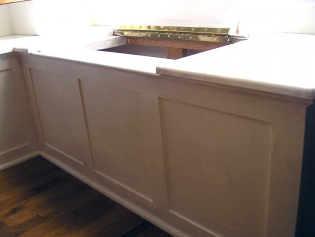 Kitchen Corner Bench With Storage