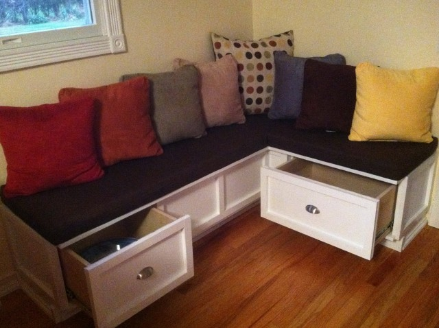 Kitchen Nook Bench Diy