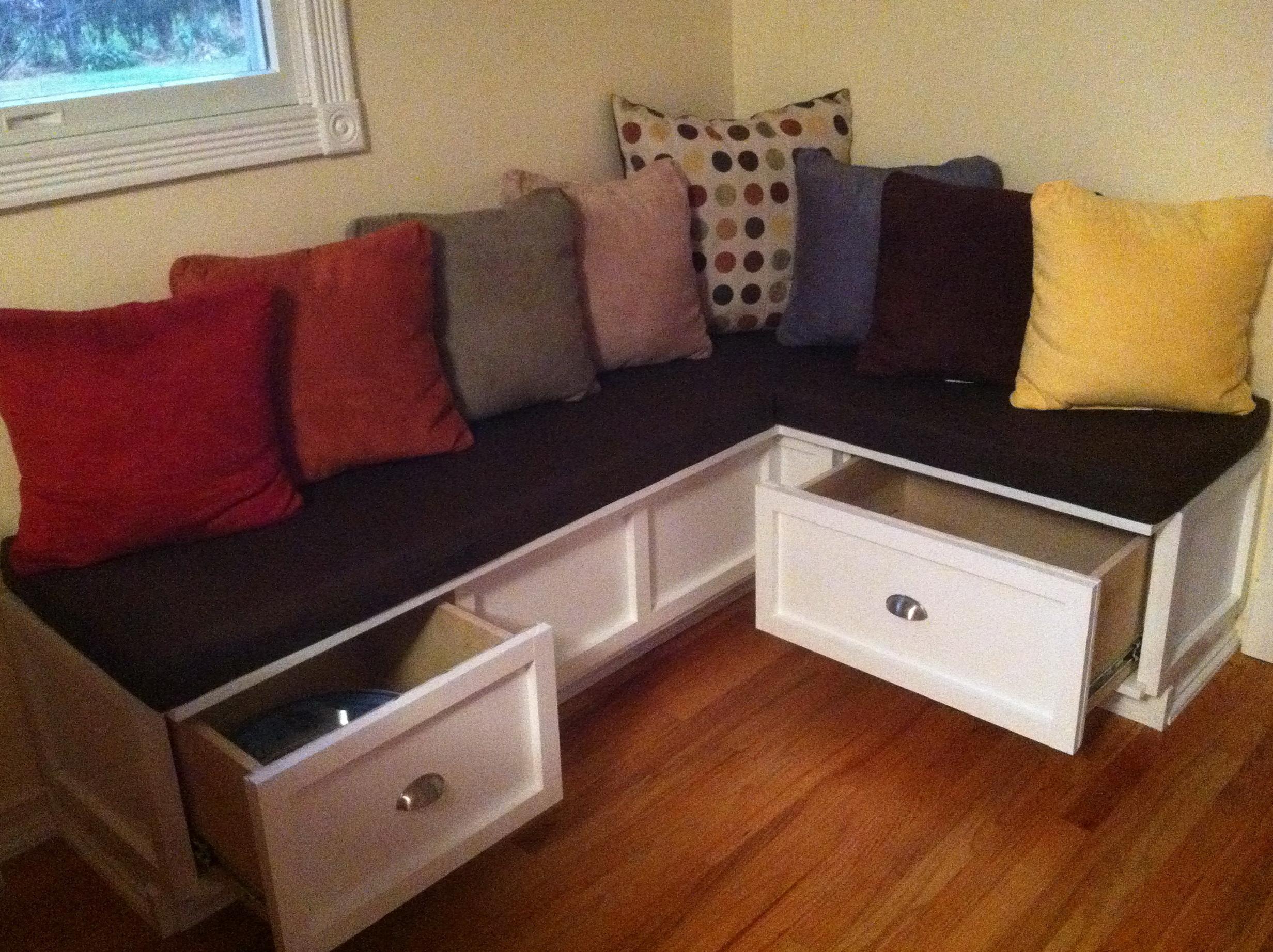 Kitchen Nook Bench Diy