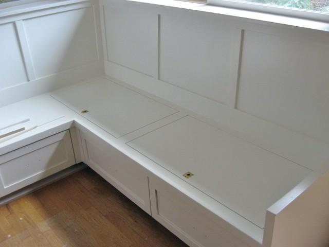 Kitchen Nook Bench With Storage