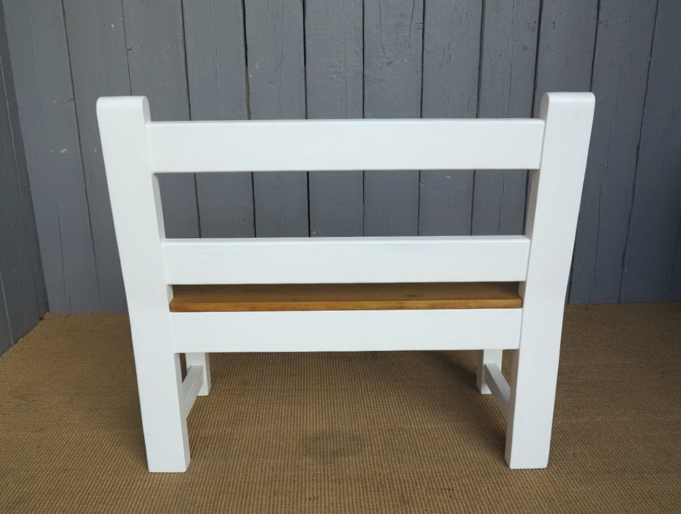 Kitchen Table Bench With Back