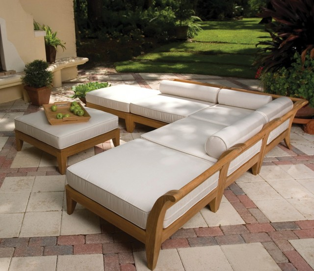 L Shaped Bench Cushion