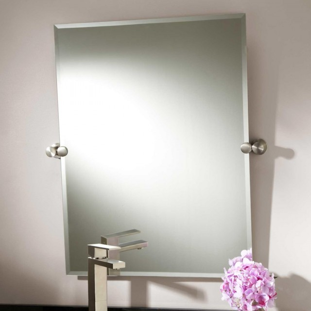 large bathroom mirrors brushed nickel oval bathroom mirrors brushed nickel home design ideas 23611