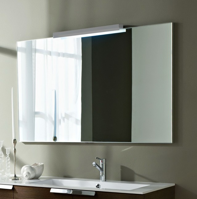 large bathroom mirror with lights home design ideas. Black Bedroom Furniture Sets. Home Design Ideas