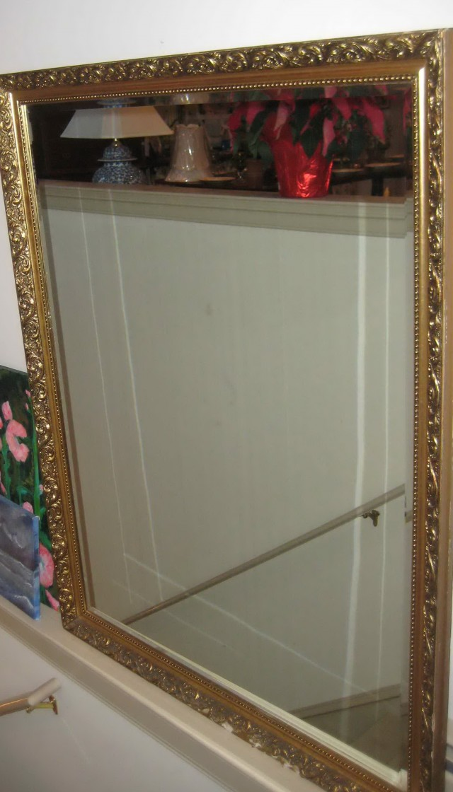 Large Wood Framed Mirrors