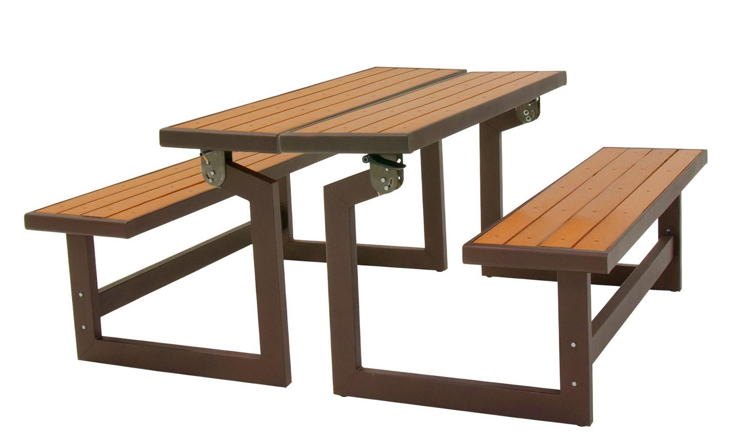 Lifetime Convertible Bench Faux Wood Construction # 60054