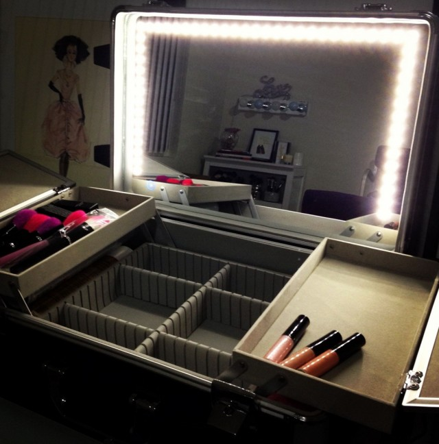 Light Up Makeup Mirror Boots