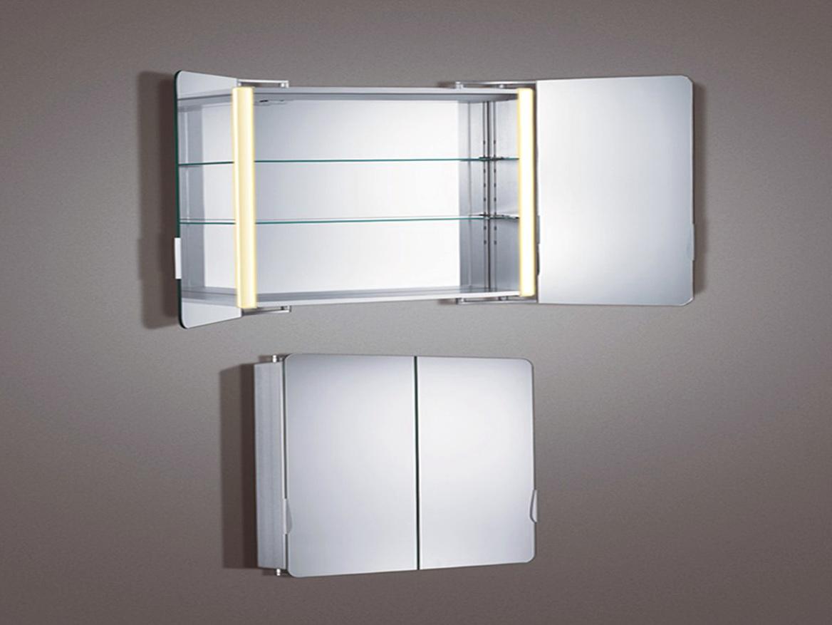 Lighted Bathroom Mirror Cabinets