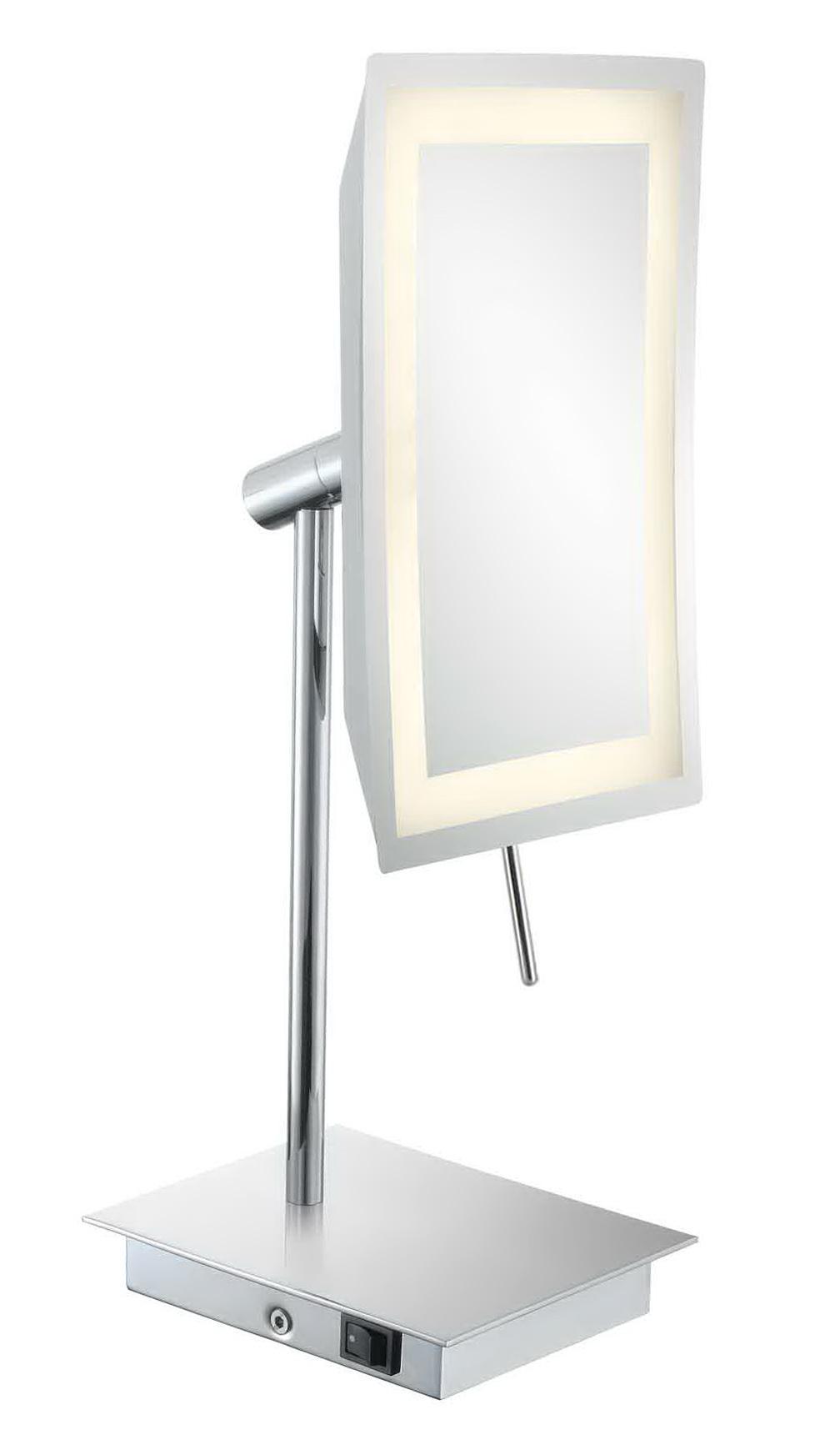 Lighted Makeup Mirror 15x