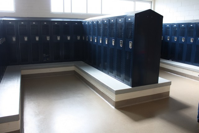 Locker Room Benches With Backs