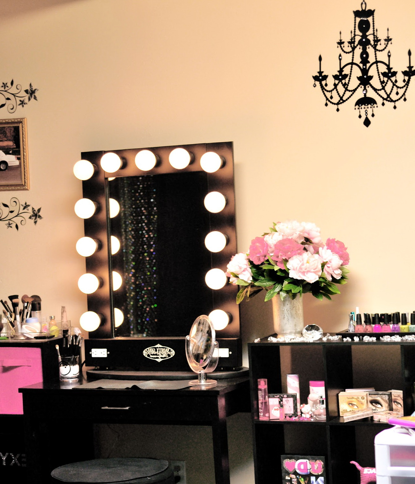 with ideas choice mirror vanity for plus and magnifying furniture lighted table your makeup best