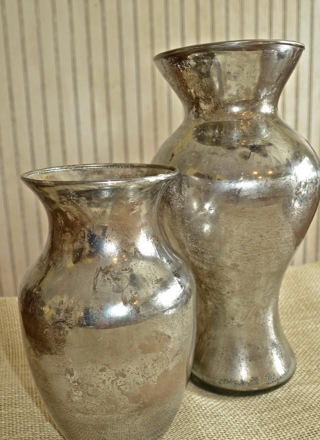 Mercury Glass Vases Diy Home Design Ideas