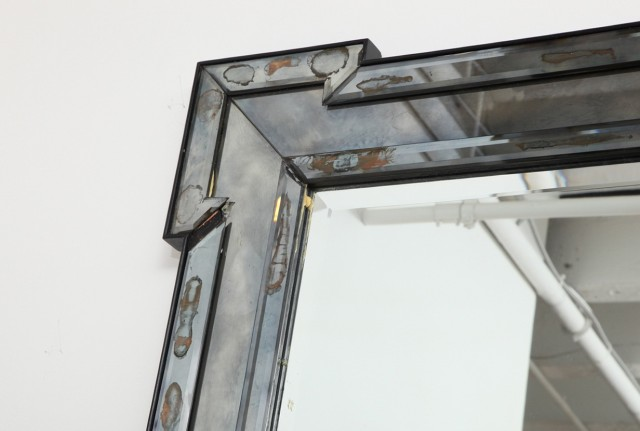 Mercury Glass Mirror For Sale