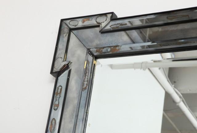 Mercury Glass Mirror For Sale