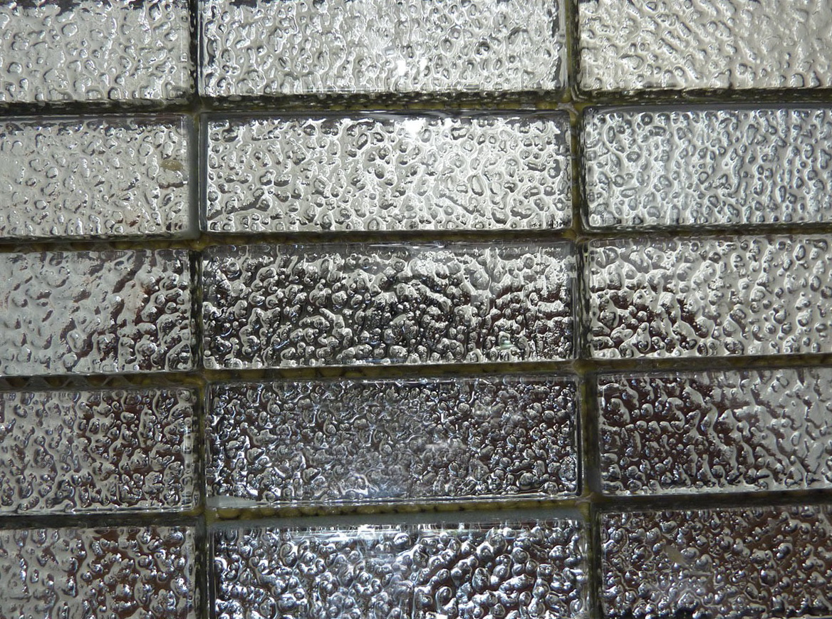 Mercury Glass Mirror Tiles