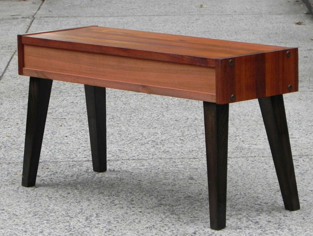 Mid Century Modern Entry Bench