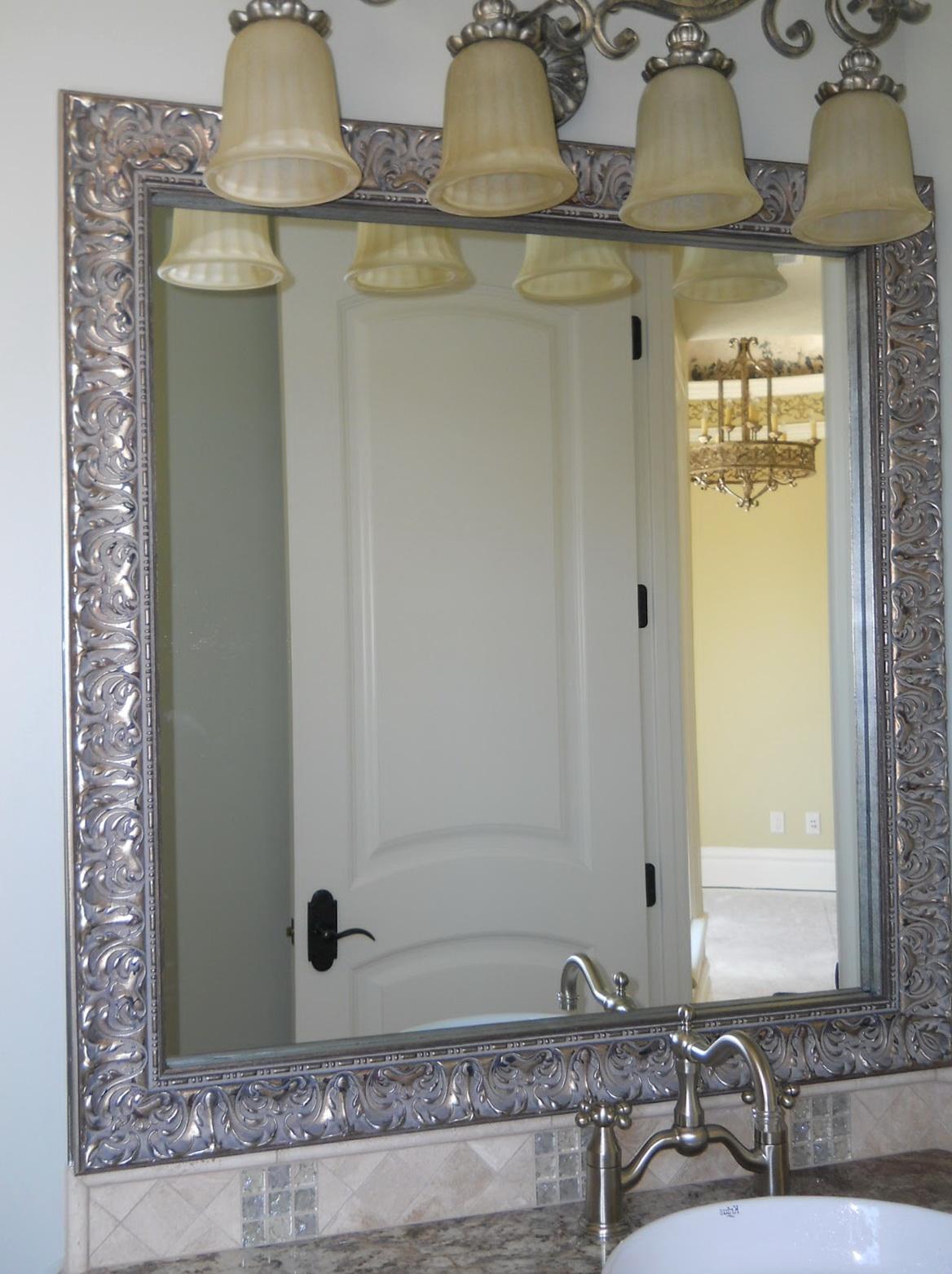 Mirror Framed Mirror Large