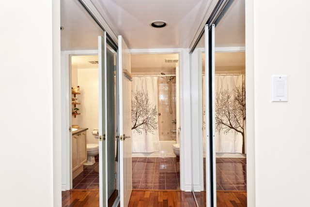 Mirrored Bifold Closet Doors Home Depot
