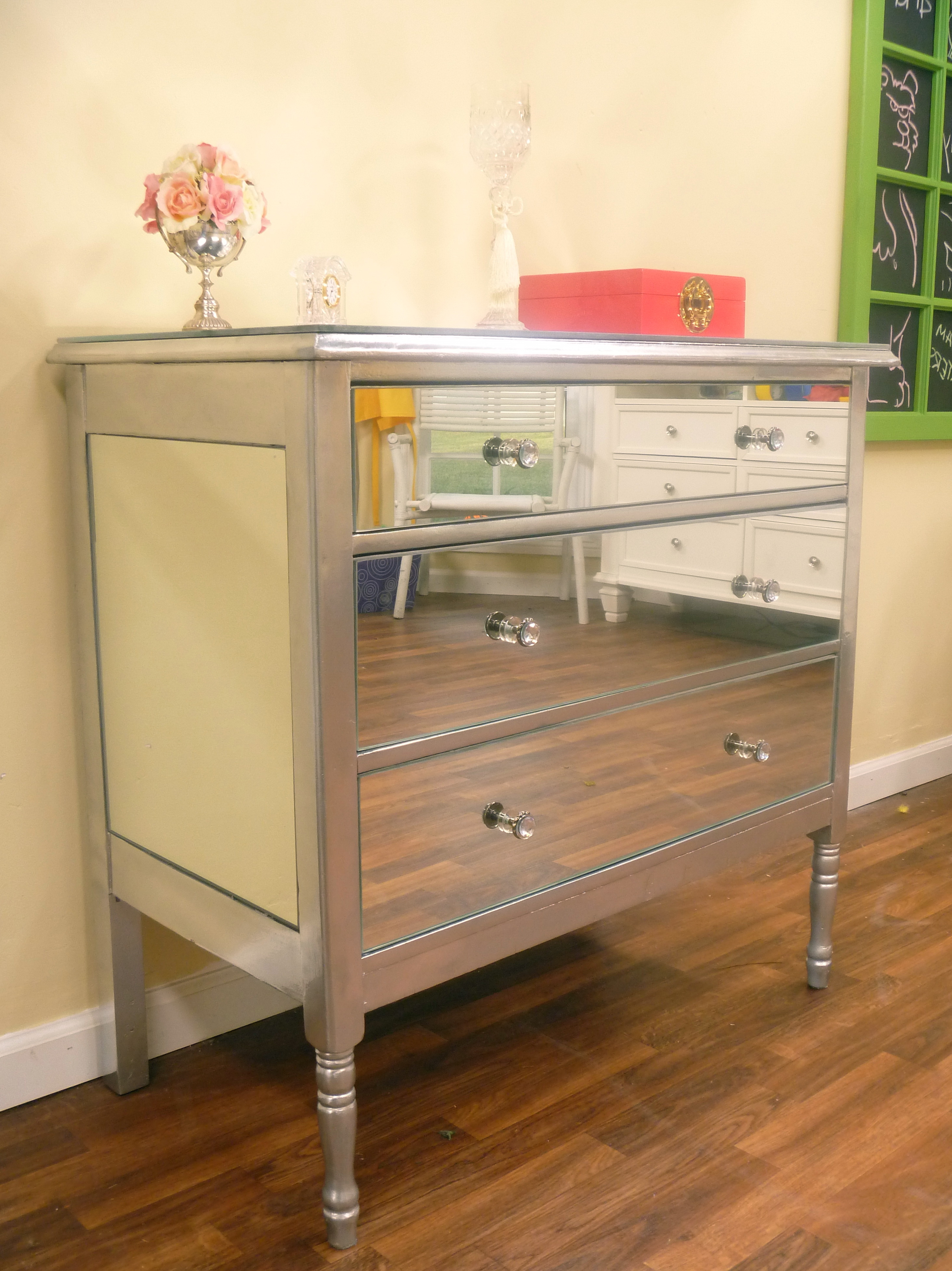 Mirrored Dresser Cheap Price