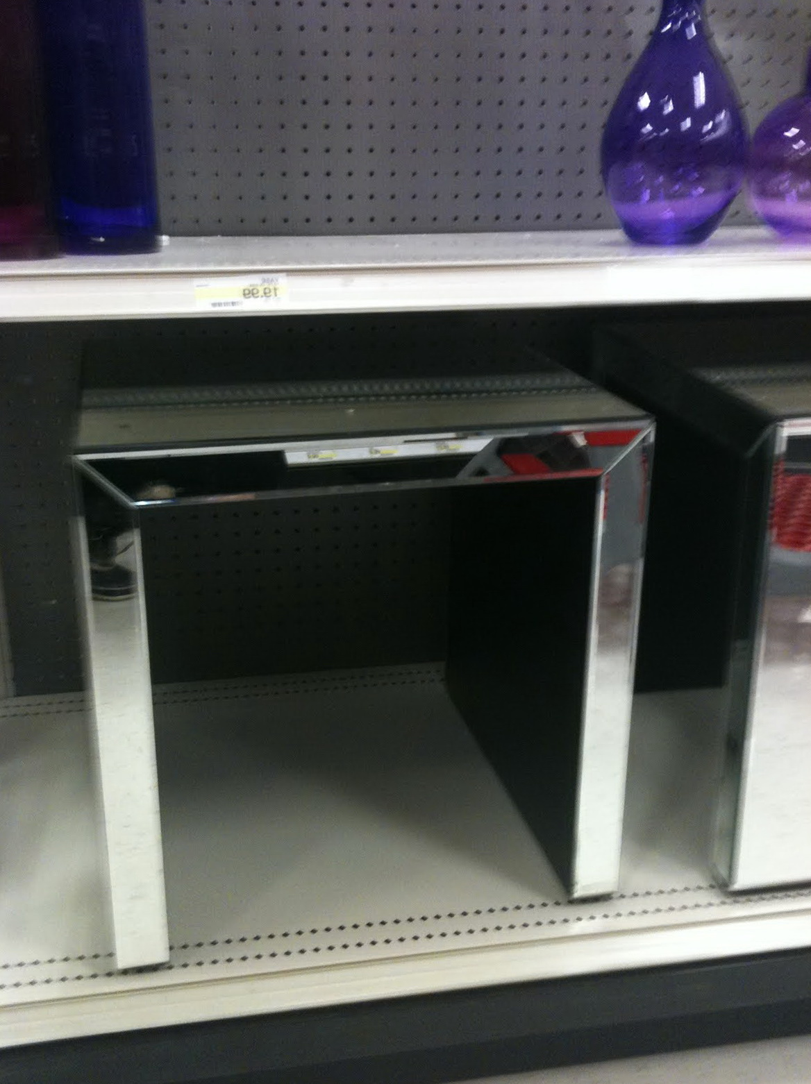 Mirrored End Tables Target