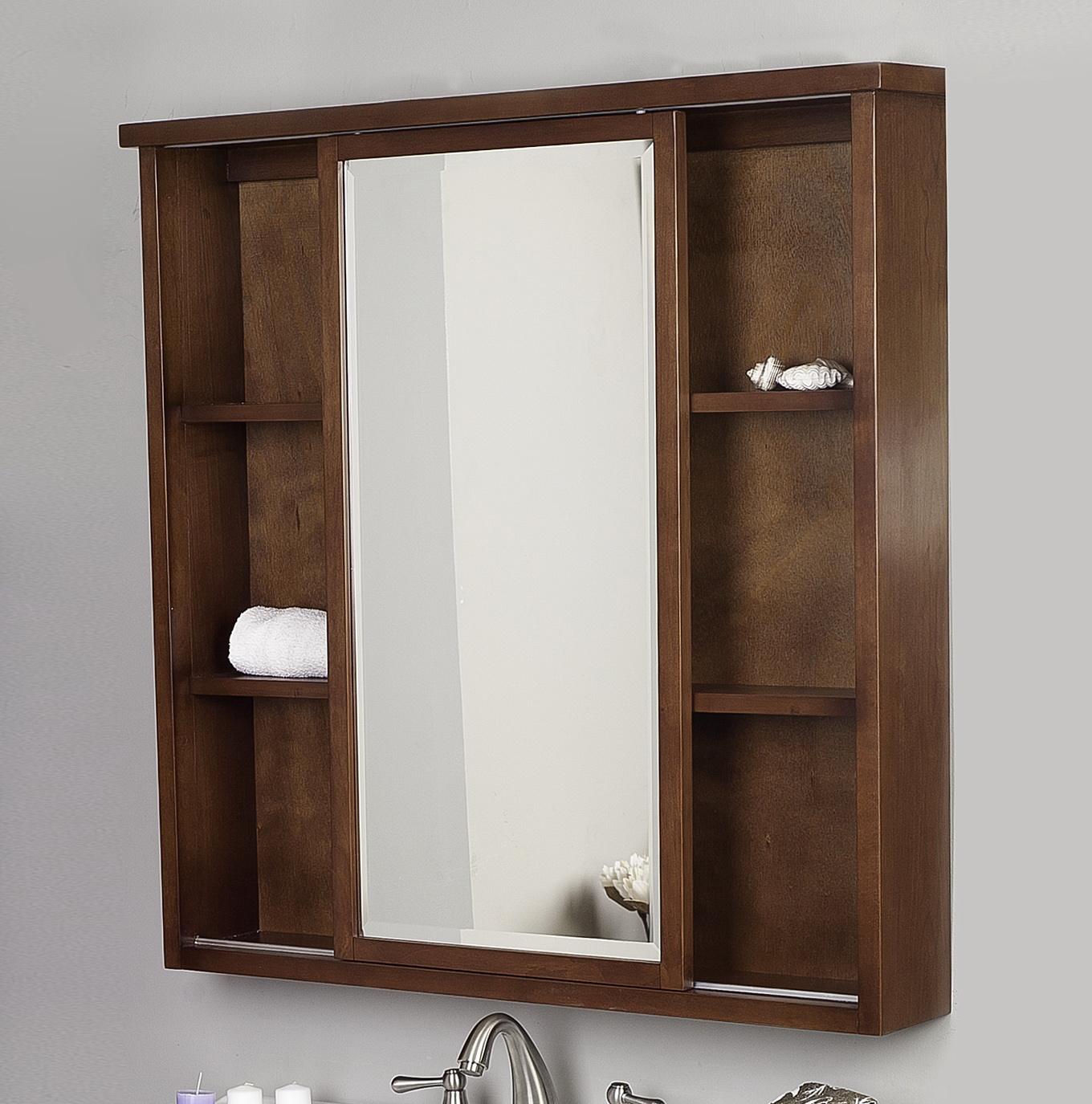 Mirrored Medicine Cabinets Lowes Home Design Ideas