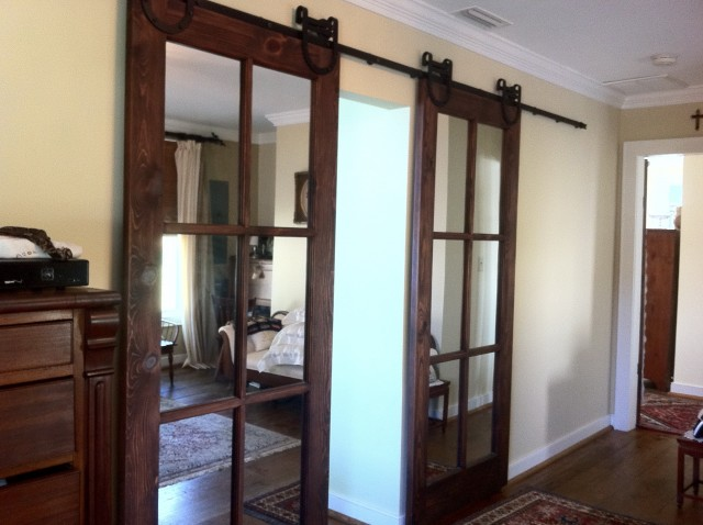 Mirrored Sliding Closet Doors For Sale