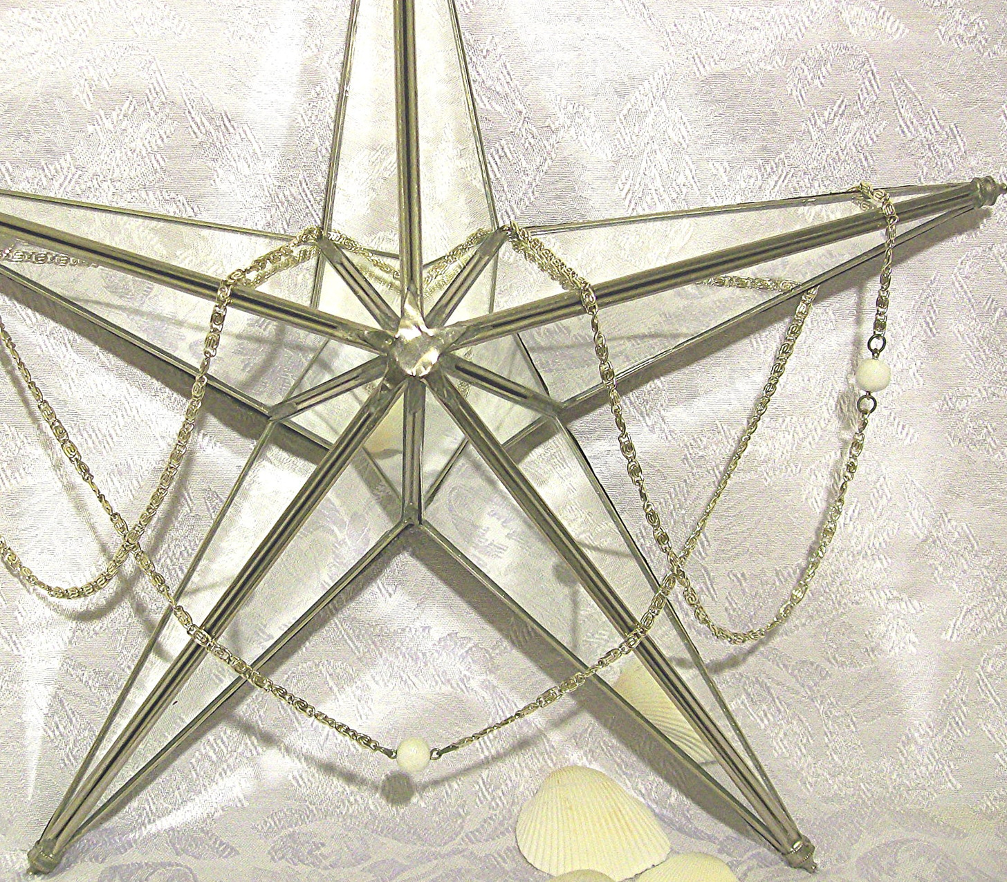 Mirrored Star Wall Decor