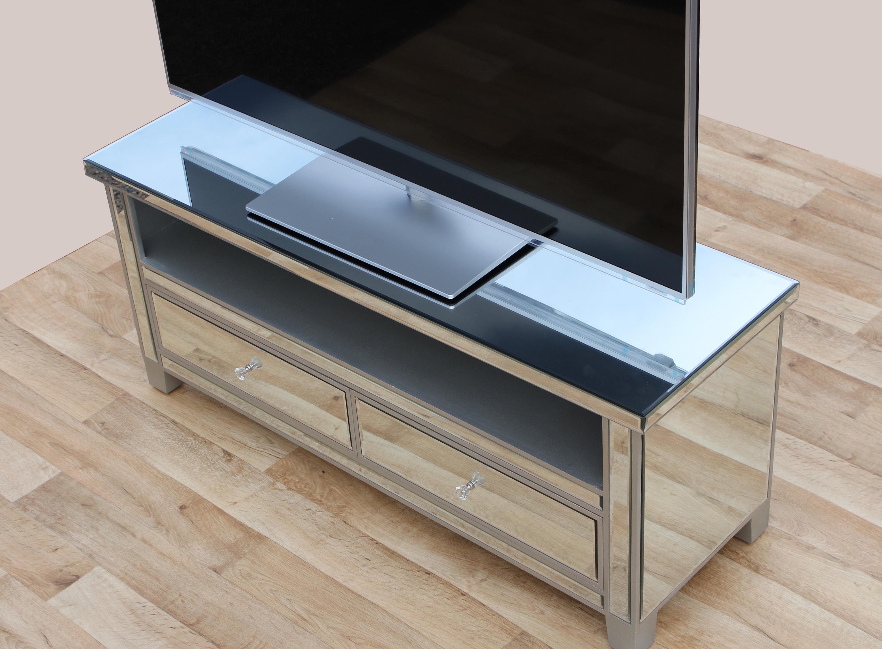 Best Mirrored Tv Stand Uk | Home Design Ideas AH78