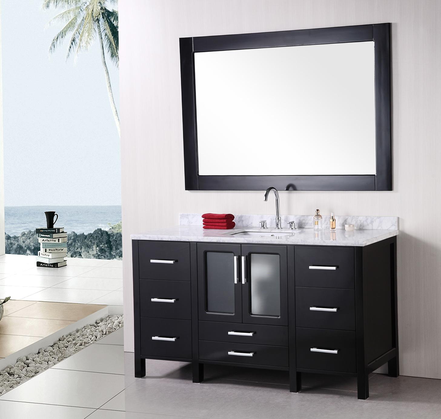 Modern Bathroom Mirrors Uk