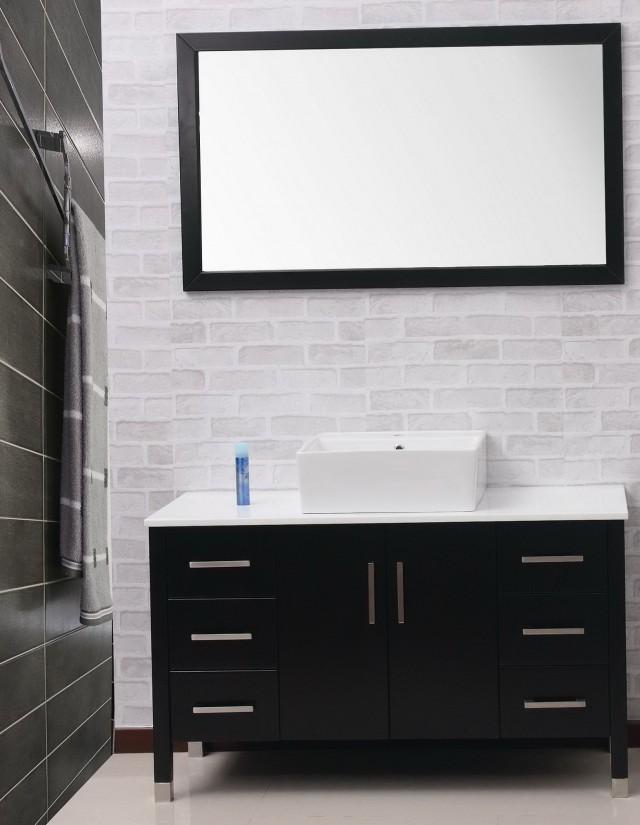 Modern Vanity Dresser With Mirror