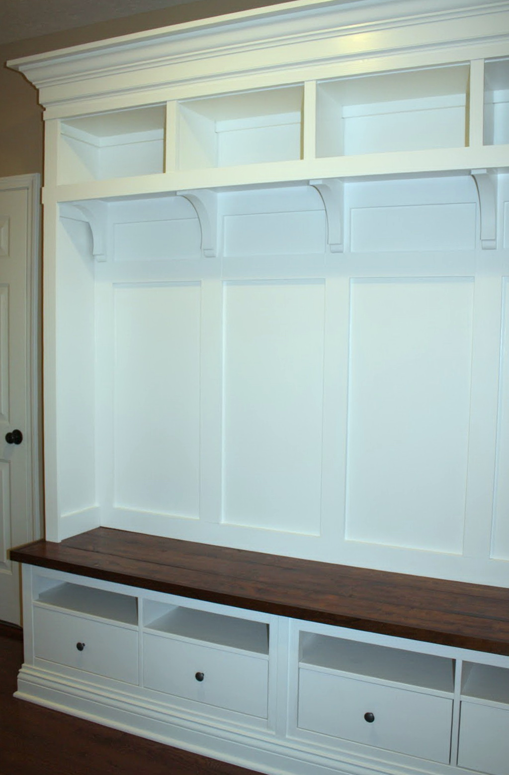 Mudroom Storage Bench Plans Home Design Ideas