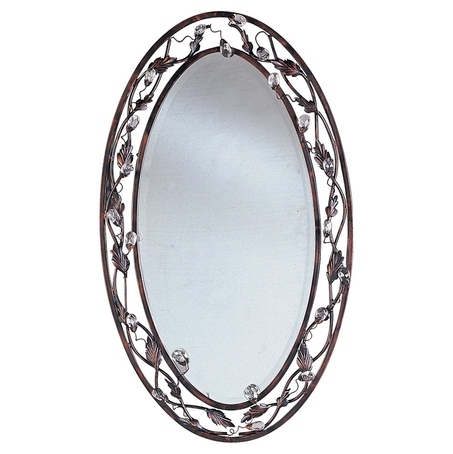 Oil Rubbed Bronze Mirror J Channel