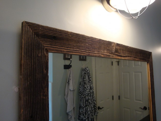 Old Wood Framed Mirrors