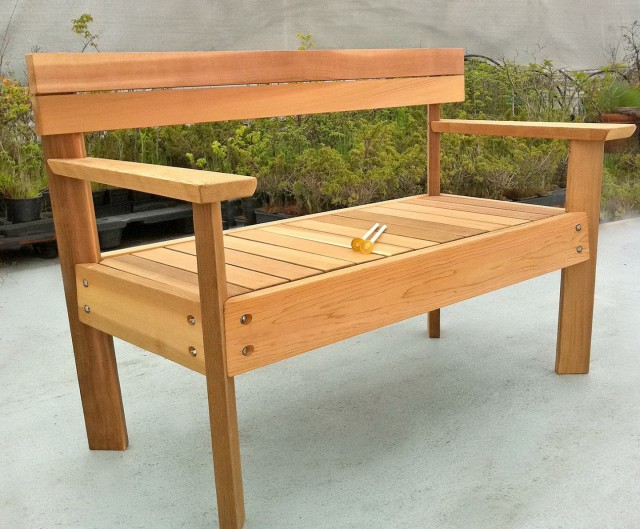 Outdoor Wood Bench Designs