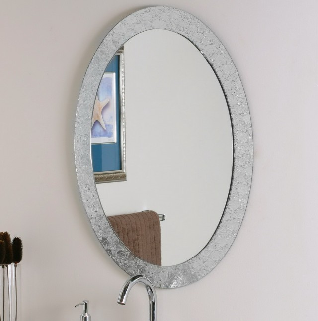 Oval Wall Mirrors Decorative
