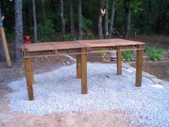 Pallet Garden Work Bench