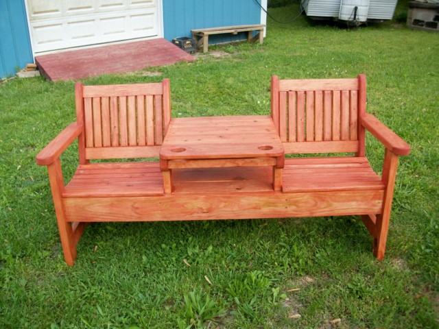 Picnic Table Converts To Bench Plans