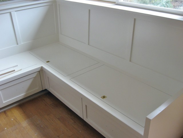 Plans For A Corner Storage Bench