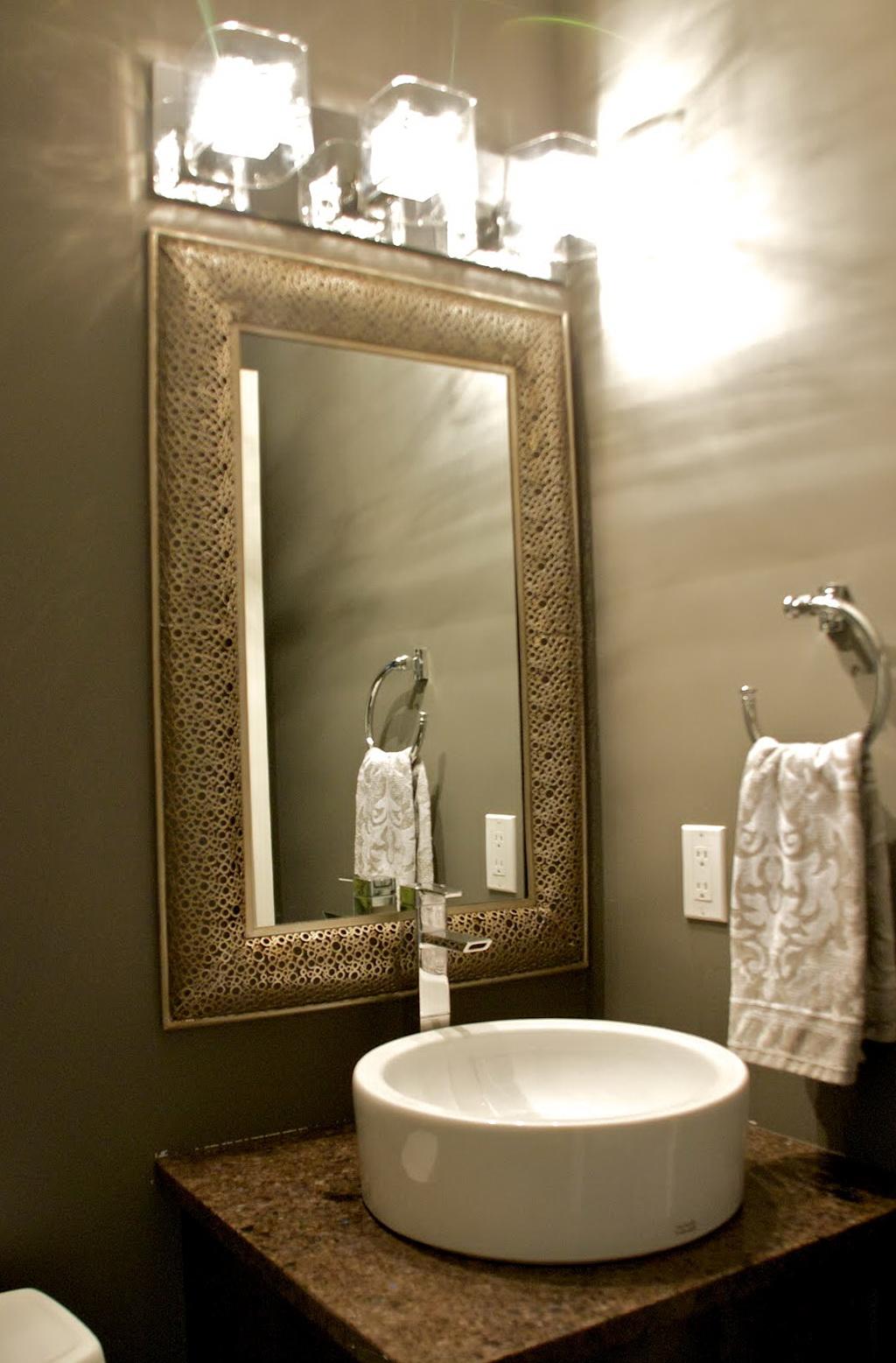 Powder Room Mirrors Ideas Home Design Ideas