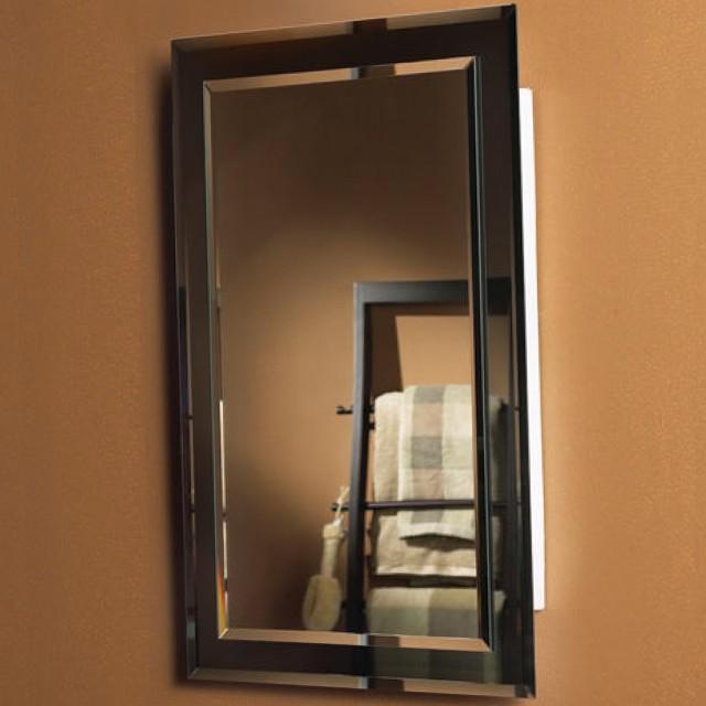 Recessed Wood Medicine Cabinet No Mirror