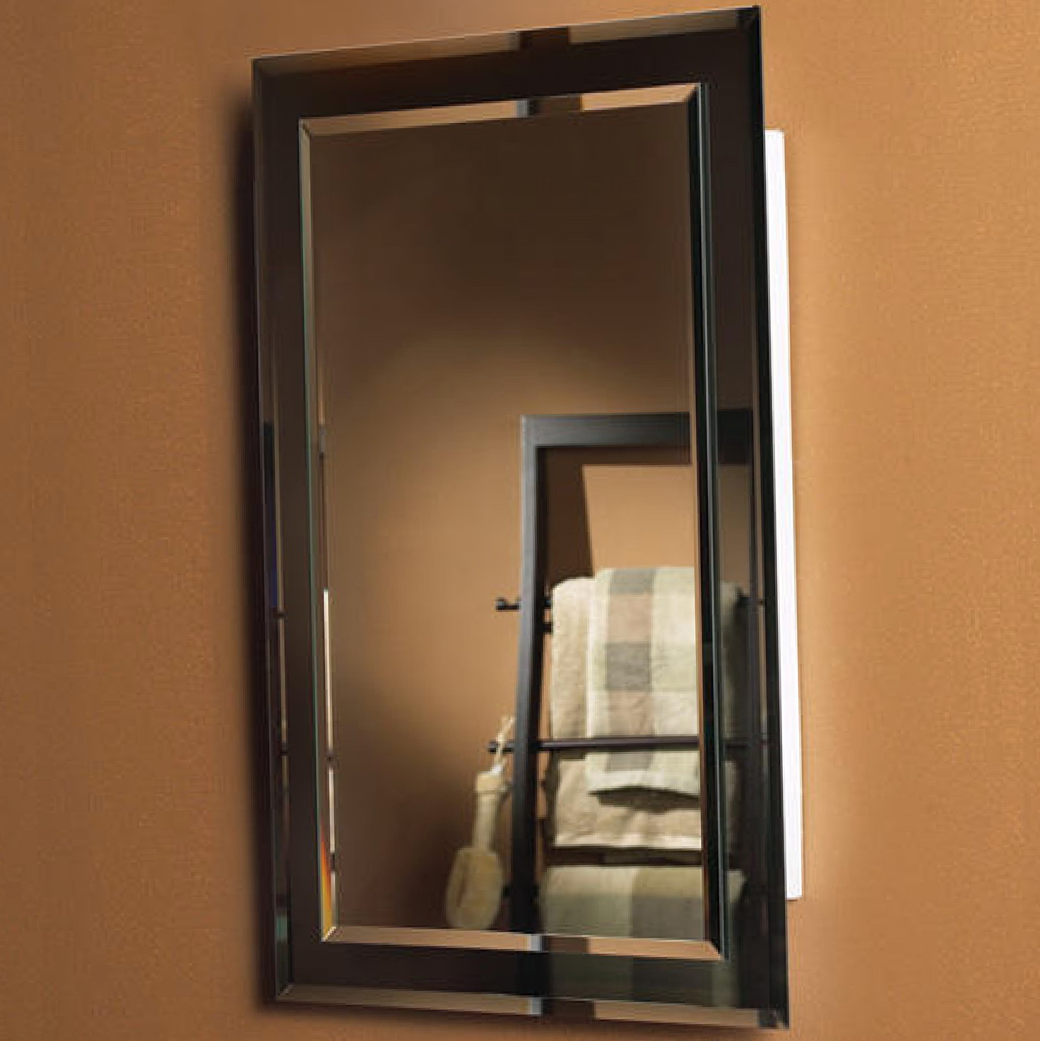 recessed wood medicine cabinet no mirror home design ideas. Black Bedroom Furniture Sets. Home Design Ideas