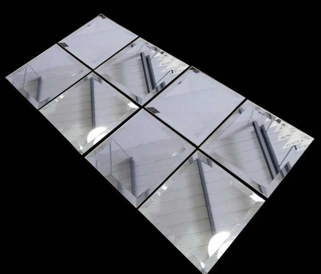 Rectangular Beveled Mirror Tiles