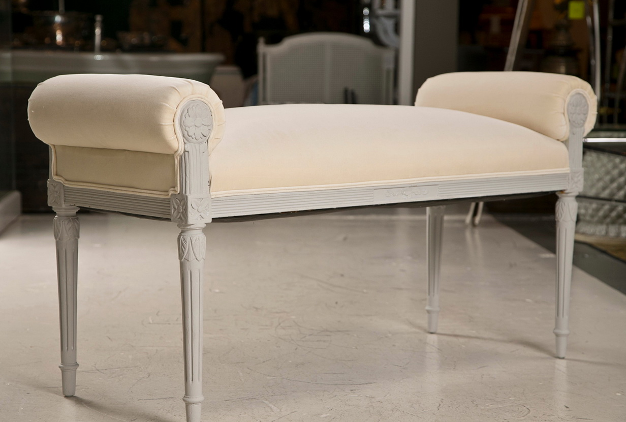 Rolled Arm Bench Furniture Home Design Ideas