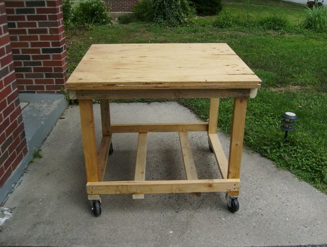 Rolling Workbench Diy