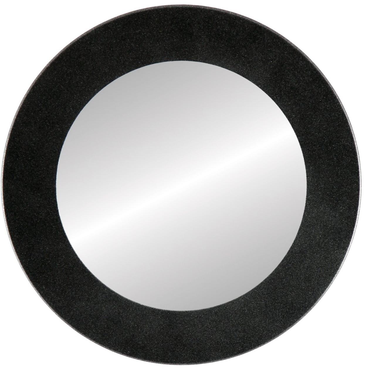 Round Black Framed Mirror Home Design Ideas