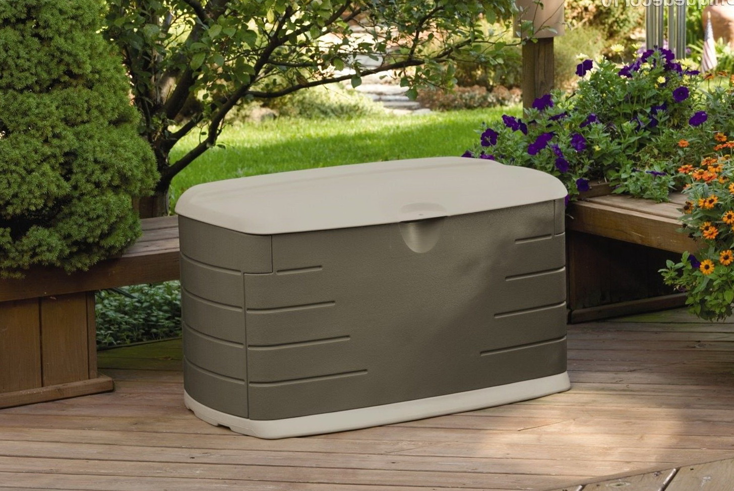 Rubbermaid Storage Bench Lowes