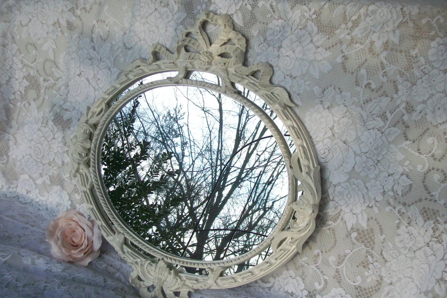 Shabby Chic Mirrors Cream