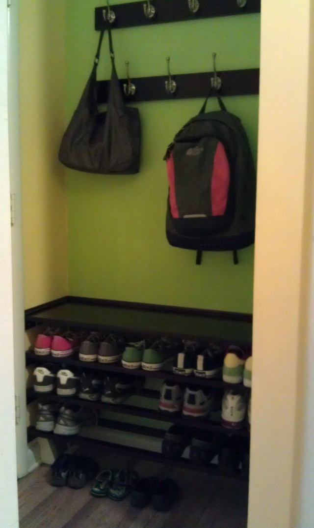 Shoe Bench Coat Rack