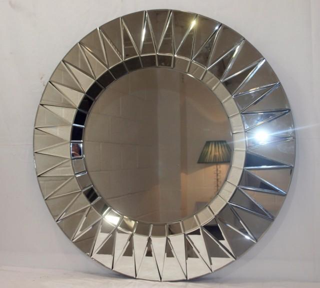 Silver Sunburst Mirror Cheap